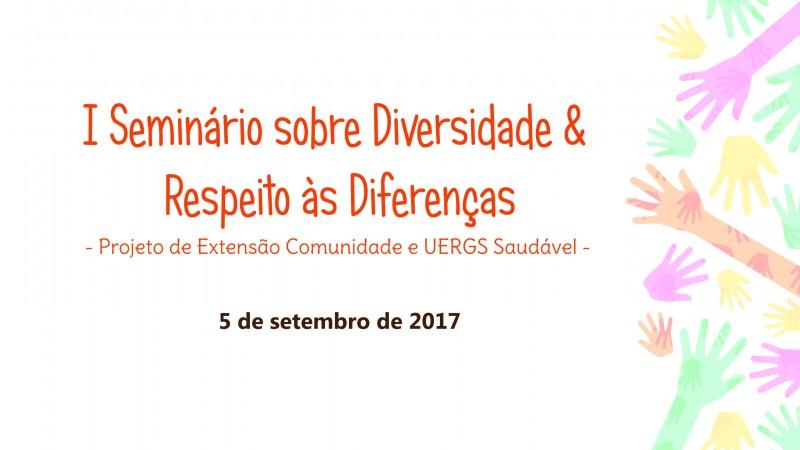 4db158179e Seminário em Porto Alegre discutirá a diversidade e o respeito às ...